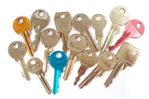 Rôzne kópie kľúčov